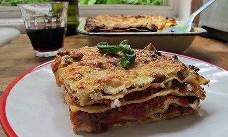 Vegetarian Lasagna Recipe with Italian-Style and Alternative Cheese