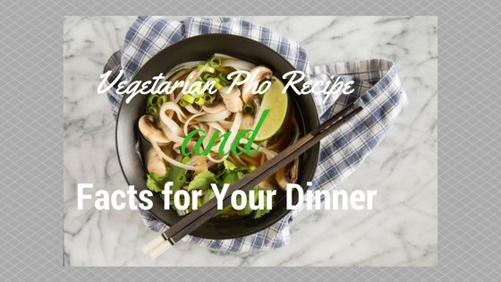Vegetarian Pho Recipe and Facts for Your Dinner