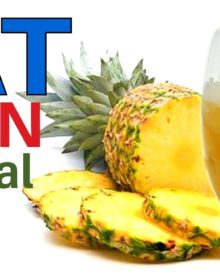 Fat Burning Smoothies at Natural Ways || Pineapple Smoothie for Fat Burning