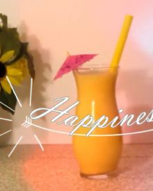 Healthy Pineapple / Banana Smoothie Drink & Smoothie Pops | Made With Coconut Juice