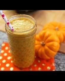Healthy Pumpkin Pie Smoothie Recipe | Protein Shake | Recipe Remix