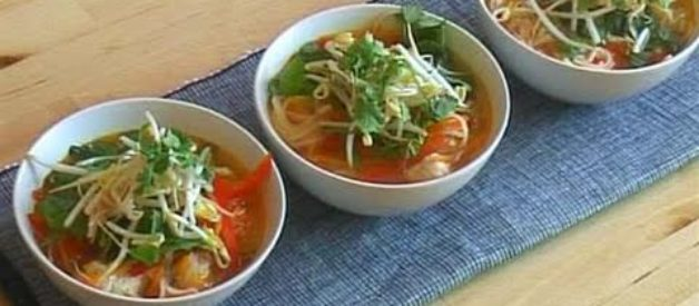 How To Make Asian-Style Chicken Noodle Soup