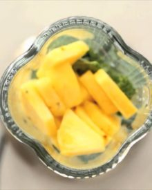 Kale, Pineapple, and Almond-Milk Smoothie – Eat Clean with Shira Bocar