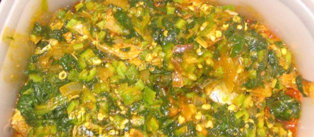 Nigerian Okra Soup   All Nigerian Recipes
