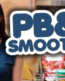 Peanut Butter & Jam Smoothie Recipe – Healthy & Delicious!