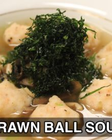 Prawn Ball Soup | Soup Recipes | Sanjeev Kapoor Khazana