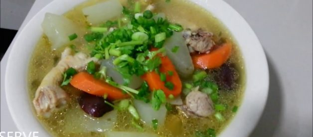 SIMPLE CHICKEN WINTER MELON SOUP RECIPES