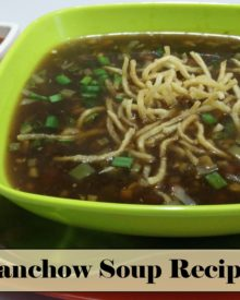 Veg Manchow Soup Recipe in Hindi by Cooking with Smita | Indo – Chinese Recipe