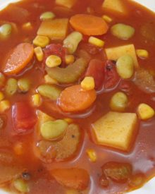 VEGETABLE SOUP – How to make simple Basic VEGETABLE SOUP Recipe
