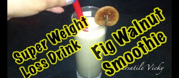 Weight Loss Drink / Post Pregnancy / Health Drink during Pregnancy / Weight Loss / Fig Smoothie