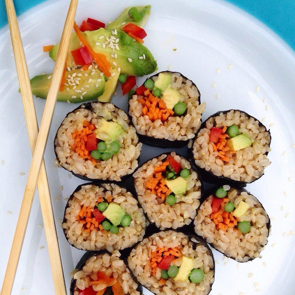 vegan sushi recipes